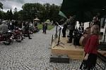 Pacov a okolí patřily v sobotu historickým motocyklům.