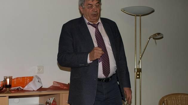 Emil Václav Havelka nepřednášel v Humpolci v pátek poprvé.