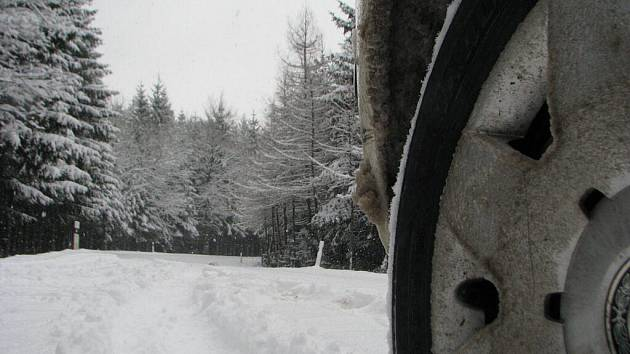 Téměř horská idyla v lesích před Bělou