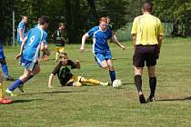Duel fotbalistů Mnichu s Velkou Chyškou rozhodla penalta v závěru.