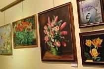 Galerie M nabízí ke zhlédnutí tři výstavy.