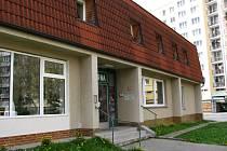 Budova, kde sídlila praktická lékařka Holatová.