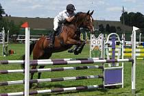 V Humpolci se konal závod koní ve všestrannosti.