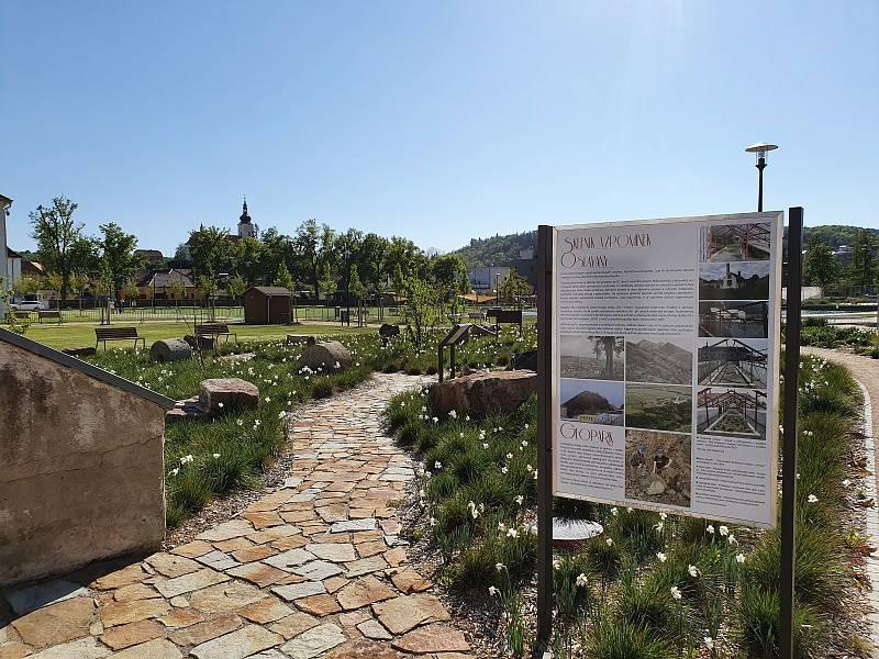 Zámecká zahrada a park, Oslavany.