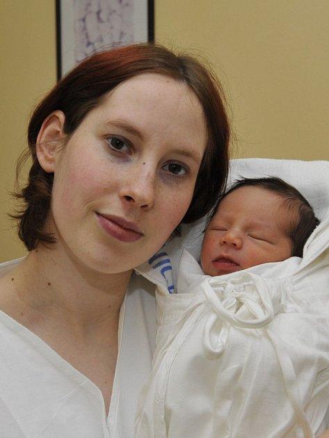 Jakub Kostka, Humpolec, narodil se 16. ledna 2009, váha: 3130 g