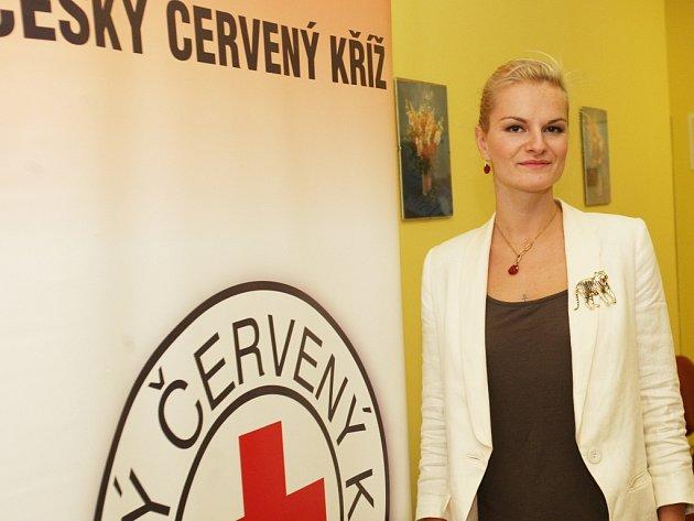 Iva Pazderková se charitě věnuje dlouhodobě.