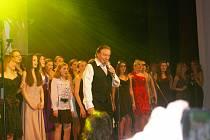 Karel Gott na Muzikantském plese v Žirovnici
