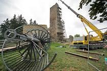 Aktuálně se na hradě Orlík nad Humpolcem zřejmě nejvíce skloňuje téma stavby rozhledny.