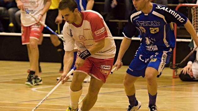 Florbalisté Pelhřimova v premiéře sezony nastříleli Kopřivnici osm gólů.