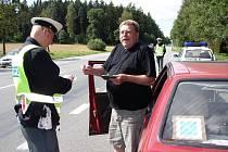 Policejní víkend na Pelhřimovsku.