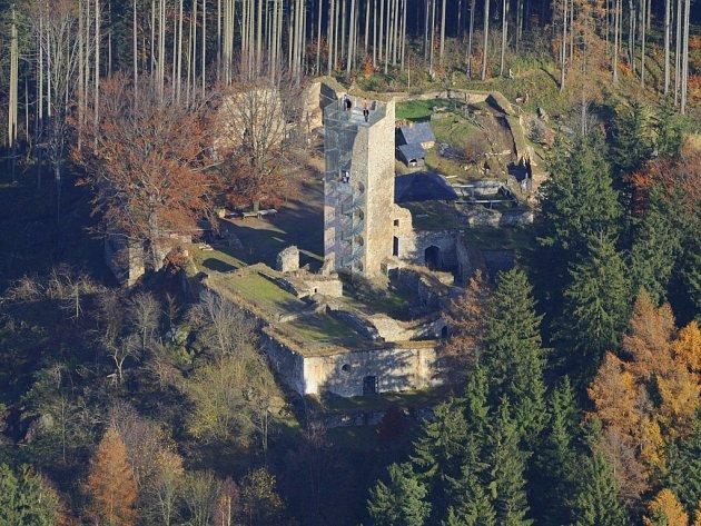 Hrad Orlík nad Humpolcem