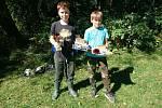 V Pelhřimově se začátkem září uskutečnily dětské rybářské závody.