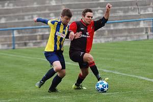 Fotbalisté béčka Humpolce zápas proti Dobronínu pokazili.