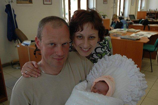 Kristýna Hubatová, 31. května 2010, Nová Cerekev, 3 350 g