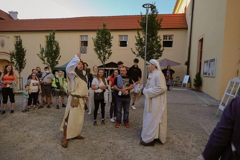 Letní hrané prohlídky v želivském klášteře