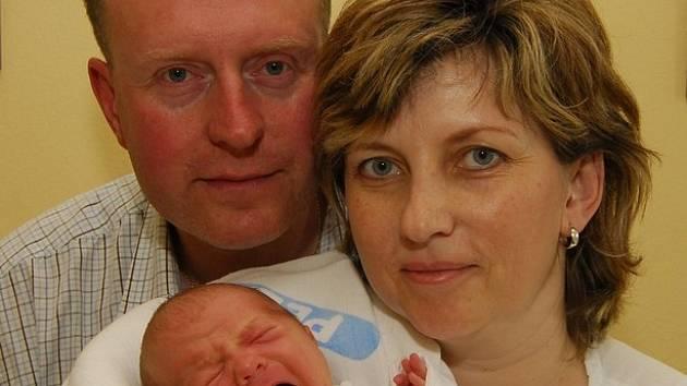 Veronika Břízová z Jiřic, narozena 24. dubna 2008, 3600 g, 52 cm.