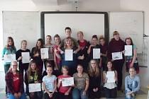 Pětidenní intenzivní jazykový kurz anglického jazyka absolvují od pondělí do pátku sedmáci a osmáci ze Základní školy Kamenice nad Lipou.