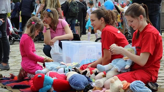 Den dětí oslavili v Pelhřimově již v pátek.