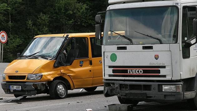 Dopravní nehoda před Humpolcem