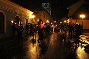 Svatomartinské oslavy v Kamenici nad Lipou.