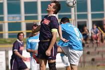 Zkušených hráčů je v rezervě Pelhřimova skutečně málo. Jedním z nich je útočník Pavel Hurda (na snímku).