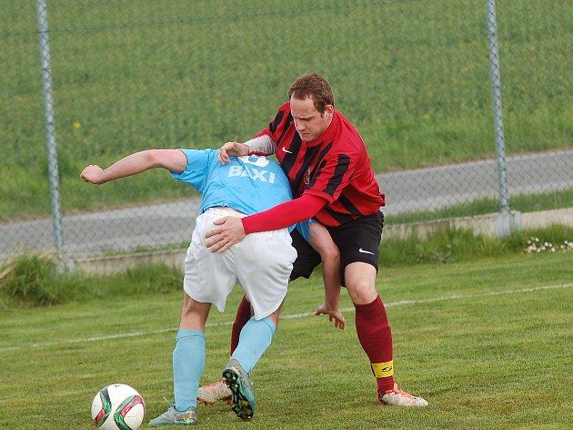 Fotbalisté Speřic dlouho v duelu s Dobronínem tahali za kratší konec provazu. Dvěma góly v poslední půlhodině ale skóre dokonale otočili.