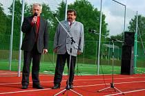 V Kamenici nad Lipou otevřeli nové sportoviště