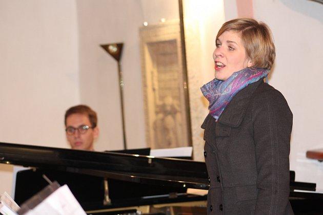 Adventní koncert v kostele sv. Víta v Pelhřimově.