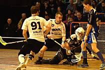 Florbalisté Pelhřimova si zahrají I. ligu i v další sezoně, Black Angels v play down porazili 3:1 na zápasy.