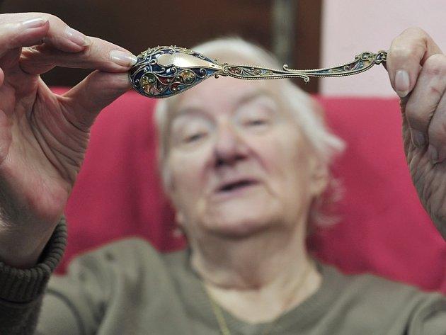 Dvě tisícovky lžiček vynesly Evě Plecháčové certifikát o držení českého rekordu.