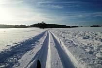 Upravené trasy pro běžkaře jsou i v Humpolci.