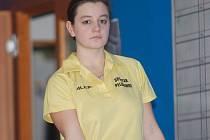 Aneta Kusiová by asi musela hodně dlouho vzpomínat na to, kdy ve II. lize vyhrála tak snadno. Mikulcovou porazila o 118 kuželek.