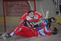 Hokejisté Slavoje Žirovnice mají jednu ze svých horších sezón. Letos vyhráli jen jednou a uzavírají tabulku okresního přeboru.