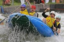 Domácí šampionát čtyřčlenných raftů nepřinesl v Želivě žádné překvapení. Na atraktivní trati dominovaly favorizované posádky.