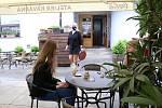 Kavárna Ateliér v Pelhřimově