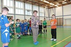 Nově opravená sportovní hala v Novém Rychnově