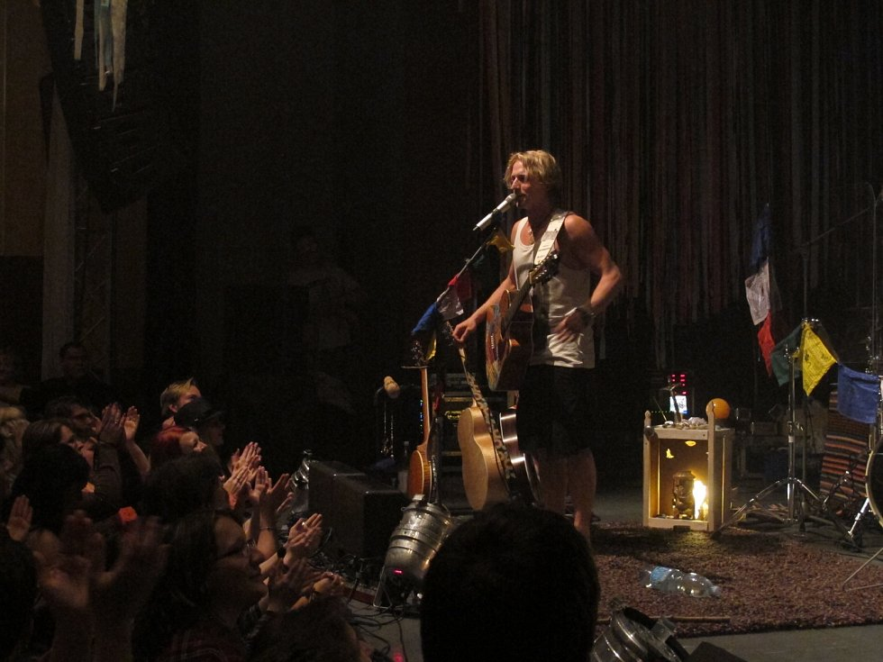 Koncert Tomáše Kluse v Pelhřimově.