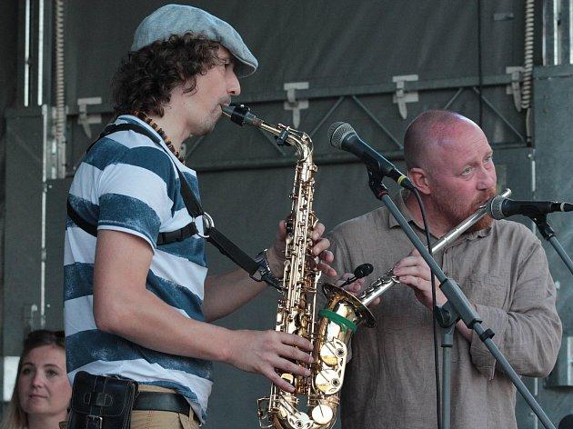 Jazz Pilgrim a hosté v pátek 21. července v Pelhřimově.