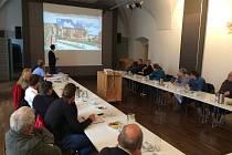 Veřejná projednání plánu regenerace sídliště Za Branou a sídliště v Nádražní ulici v Pacově.