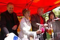 Na Křemešník zavítal kníže Schwarzenberg.