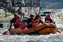 Areál s vodáckým kanálem na Trnávce nad Želivem zaplní o druhém zářijovém víkendu sportovní rafty.