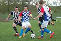 Fotbalisté Budíkova podali proti vysoce favorizované Ledči nad Sázavou sympatický výkon, ale prohře 1:3 zabránit nedokázali.