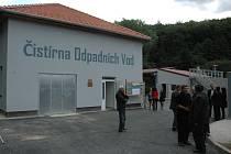 Pelhřimovská čistička odpadních vod se otevře veřejnosti.