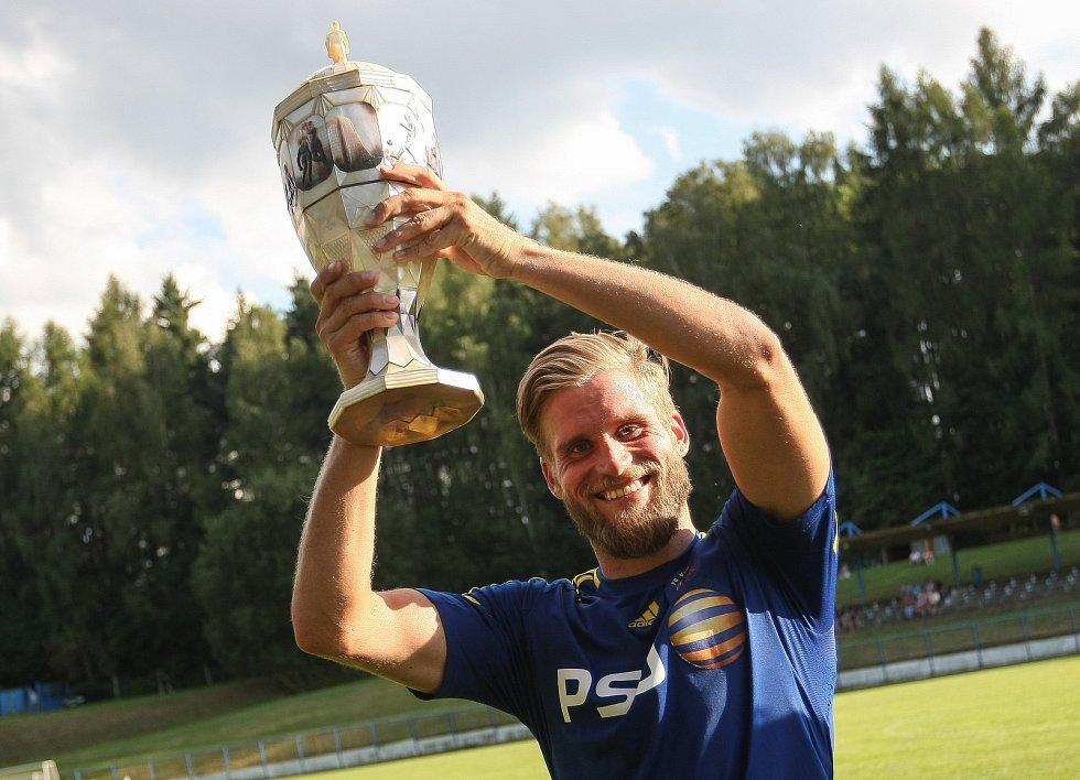 Fotbalisté Jihlavy v roce 2017 obhájili prvenství a stali se vítězi Perleťového poháru v Žirovnici.