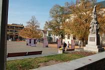 Humpolecké náměstí. Ilustrační foto.