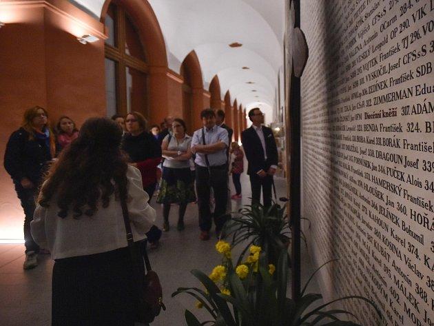 Řádoví bratři premonstráti uspořádali v sobotu 6. srpna noční prohlídky kláštera Želiv nazvané Ze želivského pokladu.