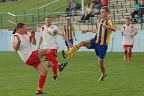 Fotbalisté Pacova se v domácím zápase s Habry s herní pohodou nepotkali. Museli se spokojit s bodem za remízu 1:1.