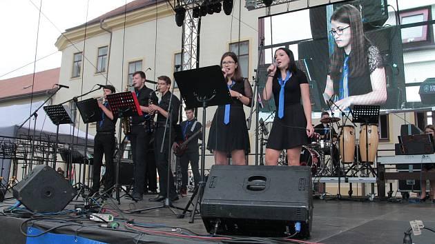 Orchestr ZUŠ Pacov.