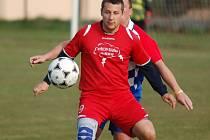 Hned čtyřikrát se do listiny střelců zapsal Tomáš Rajčan. Nová Cerekev tak hlavně jeho zásluhou nečekaně odvezla body z Vyskytné.