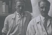 Emanuel Kodet se synem Janem